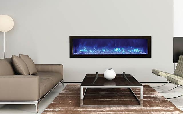 Amantii electric fireplace BI-60-SLIM