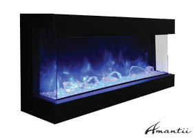 Amantii Tru-View-60 electric fireplace